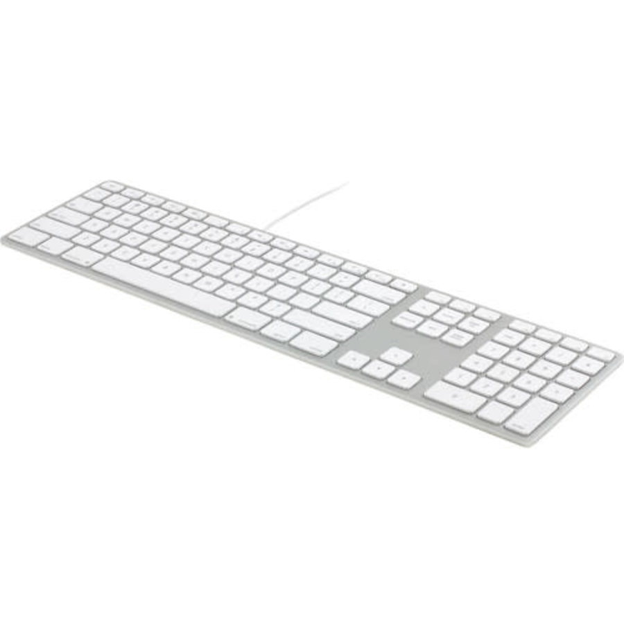 Apple Aluminum USB Wired Keyboard with 10 Key