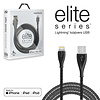 Naztech Elite Series MFi Lightning Charge & Sync Cable-Black