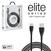 Naztech Elite Series USB-C Charge & Sync Cable-Black