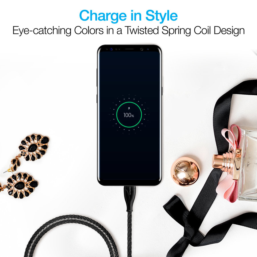 Elite Series USB-C Charge & Sync Cable-Black