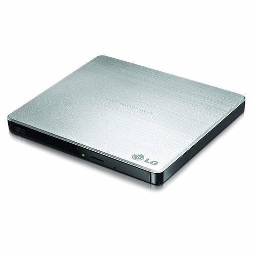 LG 8X USB 2.0 Super Multi Ultra Slim Portable DVD+/-RW External Drive