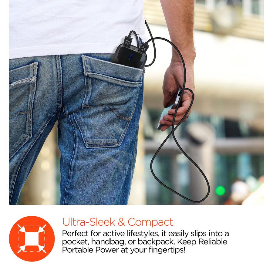 Pocket Boost Dual 7800mAh Portable Battery