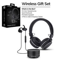 Wireless Gift Set - Black