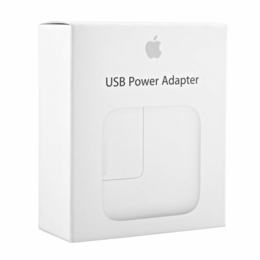 Apple 12W iPad USB Power Adapters - White New