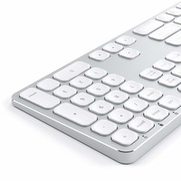 Satechi Aluminum USB Wired Keyboard with Numeric Keypad