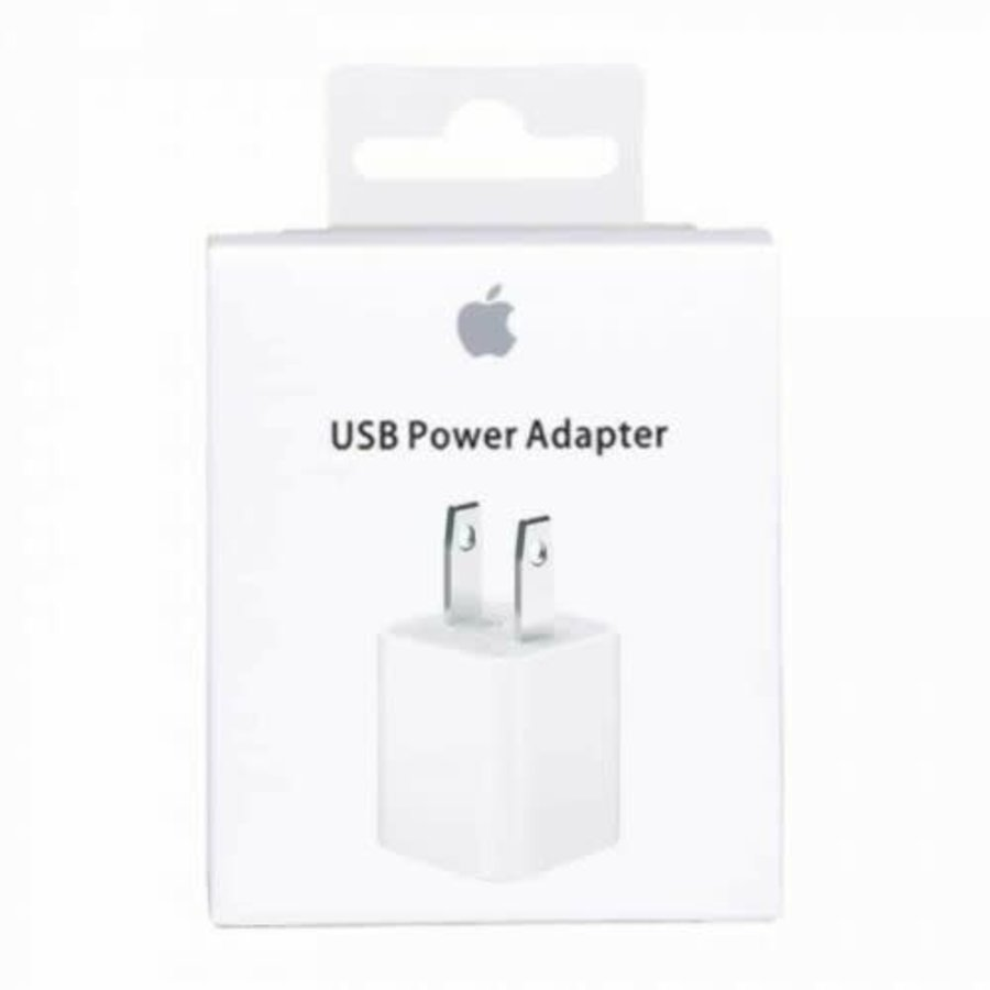 Apple 5W USB Power Adapters - White New