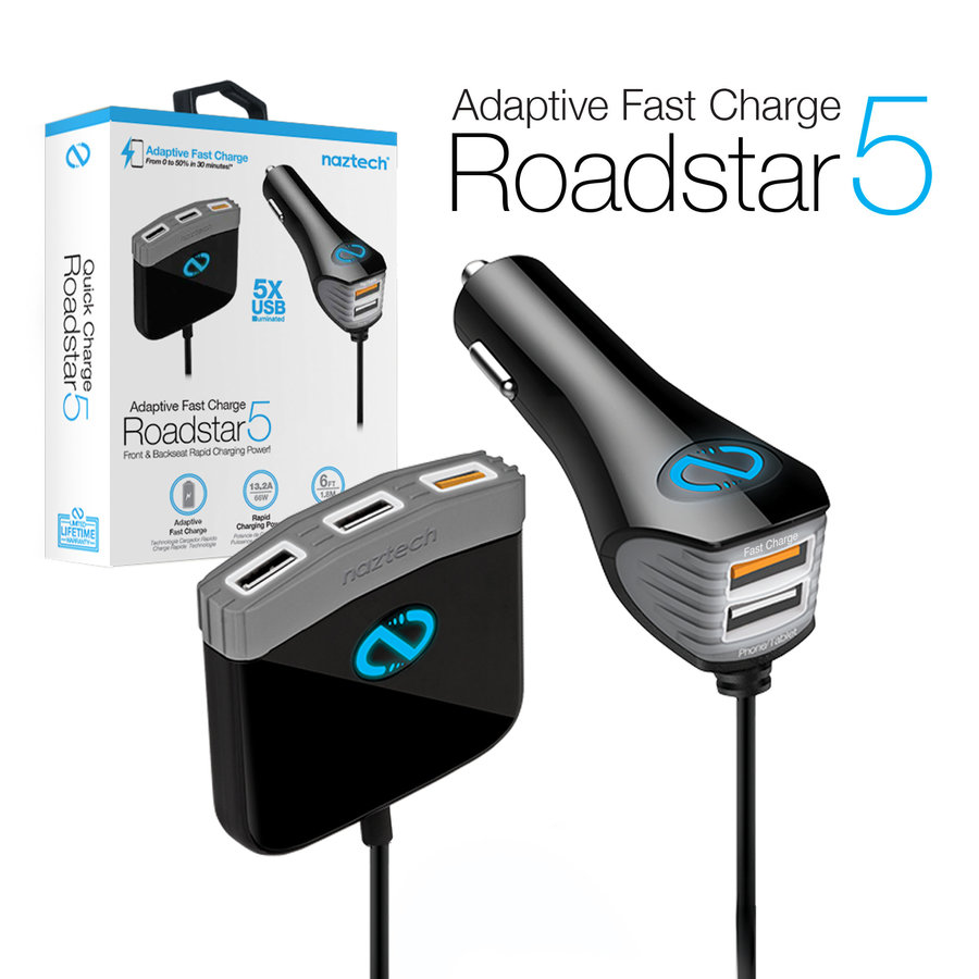 Naztech Adaptive Fast Charge Roadstar 5