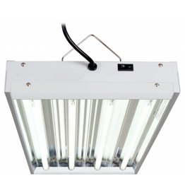 T5 2Ft 4 Tube Fixture w/Bulbs