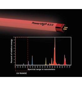 PowerVEG T5 4' 633 Red (24/cs)