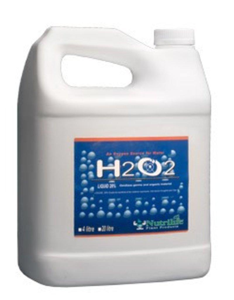 H2O2 Hydrogen Peroxide 29% 4 L