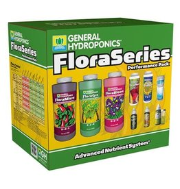 General Hydroponics GH Flora Series Performance Pack