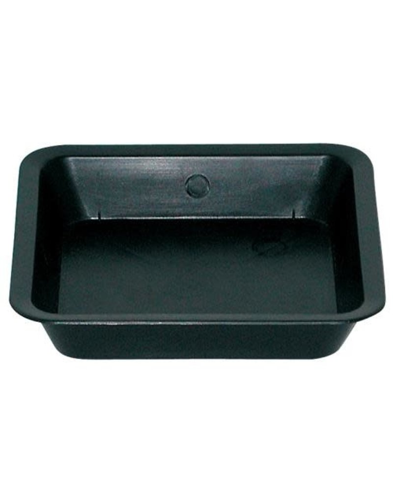 Black Square Saucer for 5 Gall