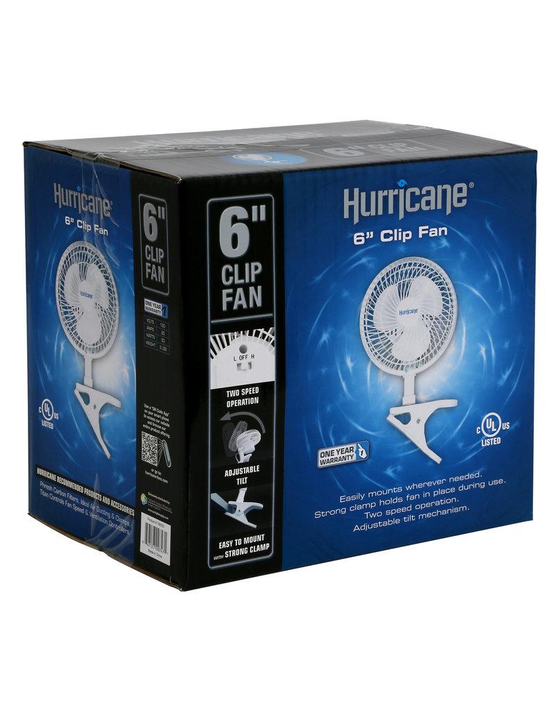 Hurricane 6 in Clip Fan