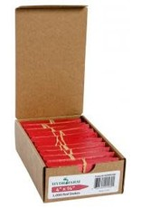 Plant Stake Labels Red (100 count)