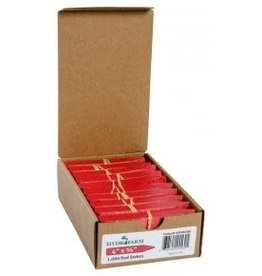 Plant Stake Labels Red 4''''x5/8