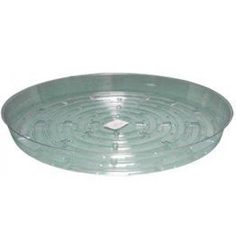 Hydrofarm Clear 12 inch Saucer, pack of 10