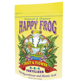 Fox Farm FoxFarm Happy Frog Fruit & Flower Fertilizer 4 lb (12/Cs)