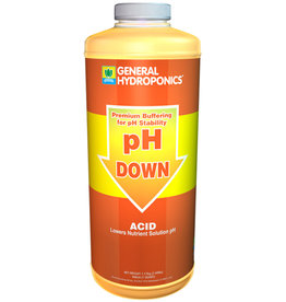 GH pH Down Liquid Quart (12/Cs)