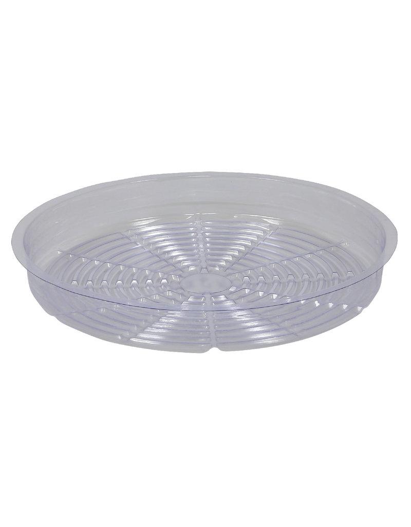 Hydrofarm Gro Pro Premium Clear Plastic Saucer 14 in