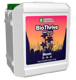 General Organics GH General Organics BioThrive Bloom 2.5 Gallon (2/Cs)