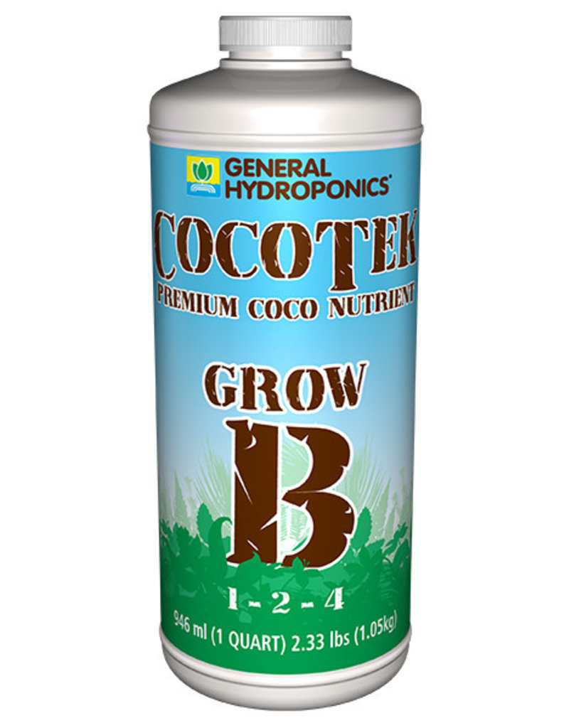 General Hydroponics GH Cocotek Grow B Quart (12/Cs)