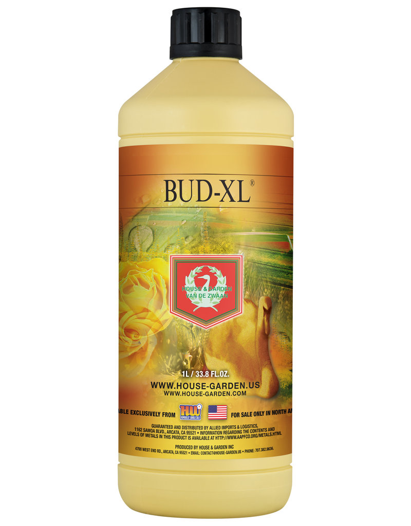 House and Garden House and Garden Bud XL 1 Liter (12/Cs)