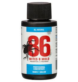 86 Mites and Mold 2 oz Mini Concentrate (Makes 1 Gallon) (12/Cs)