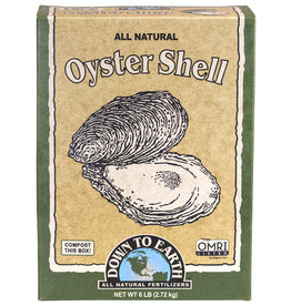 Down To Earth Down To Earth Oyster Shell - 6 lb (6/Cs)