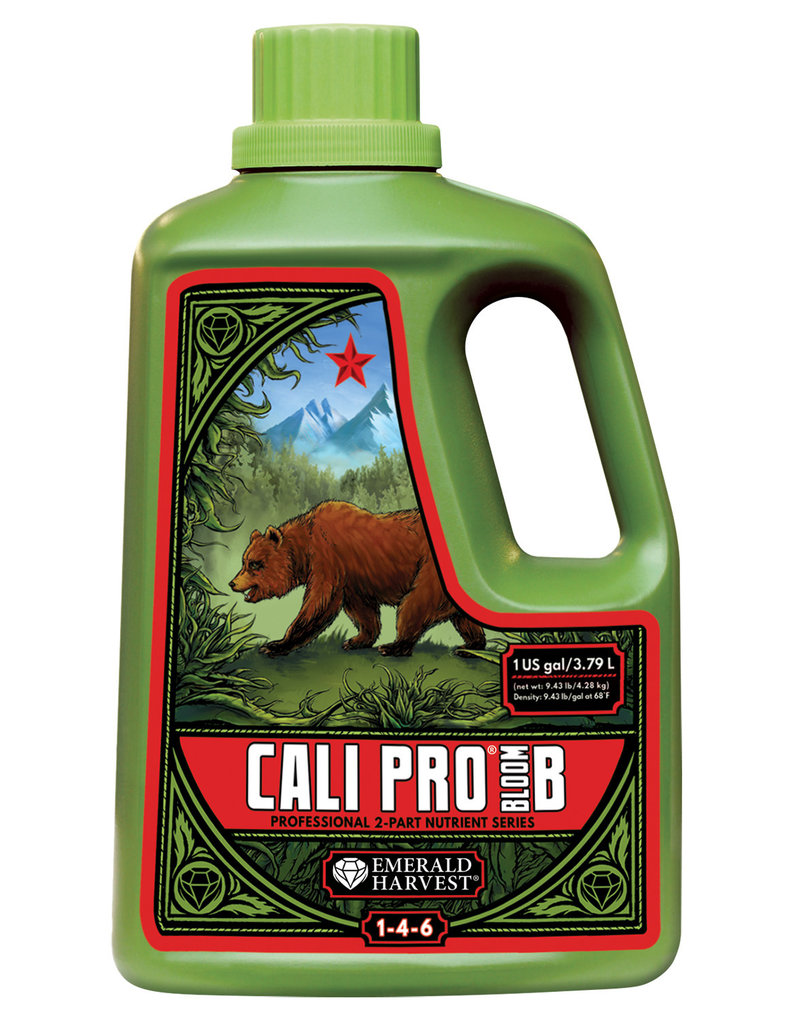 Emerald Harvest Emerald Harvest Cali Pro Bloom B Gallon/3.8 Liter (4/Cs)
