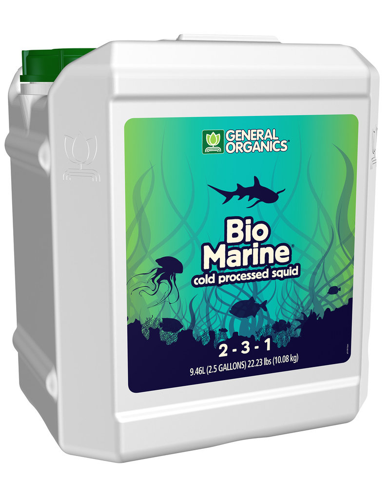 General Organics GH General Organics BioMarine 2.5 Gallon (2/Cs)