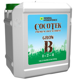 General Hydroponics GH Cocotek Grow B 2.5 Gallon (2/Cs)