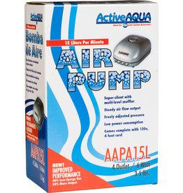 Hydrofarm Active Aqua Air Pump, 4 Outlets, 6W, 15 L/min 240gph