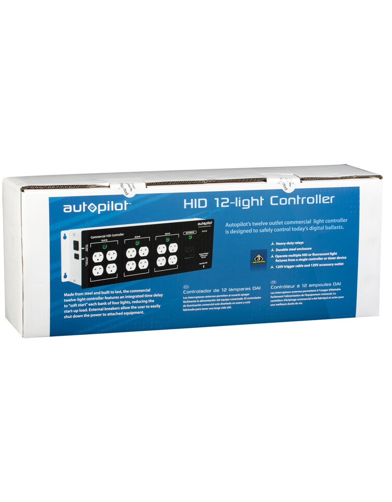Auto Pilot Commercial 12 Light Controller High Power HID
