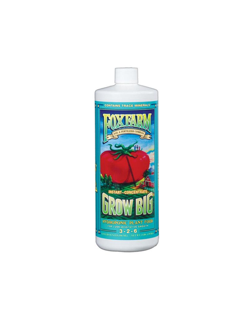 Fox Farm Grow Big Hydro Liquid Concentrate, 1 qt