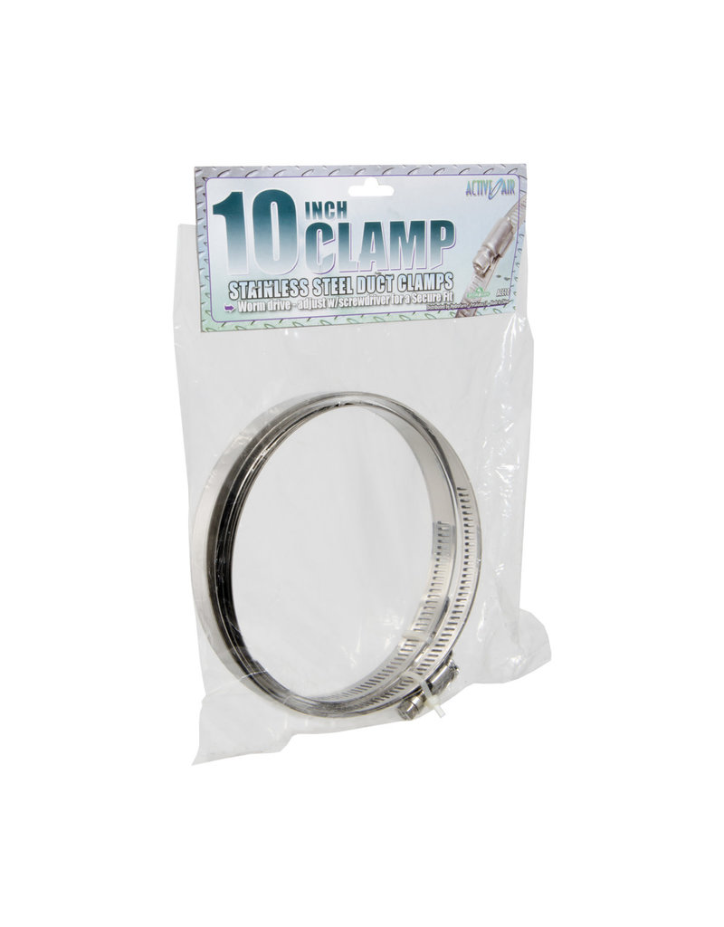 """Stainless Steel Duct Clamps - 10"""""""