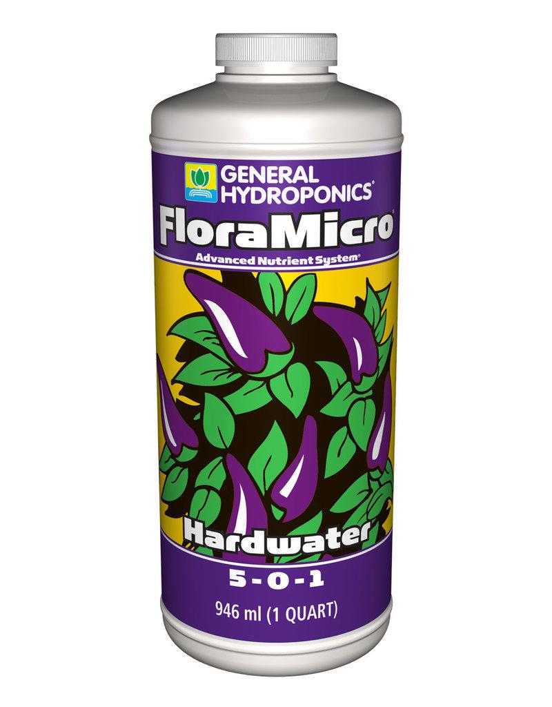 Hydrofarm Hardwater FloraMicro, 1 qt