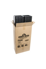 "Hydrofarm 5""x5"" Square Black Pot 7"" Tall, 100 per case"