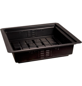 Hydrofarm Black Flood Table/Tray, 2'x2'