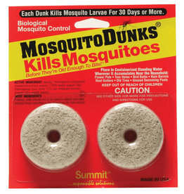 Mosquito Dunks, 2 per Card