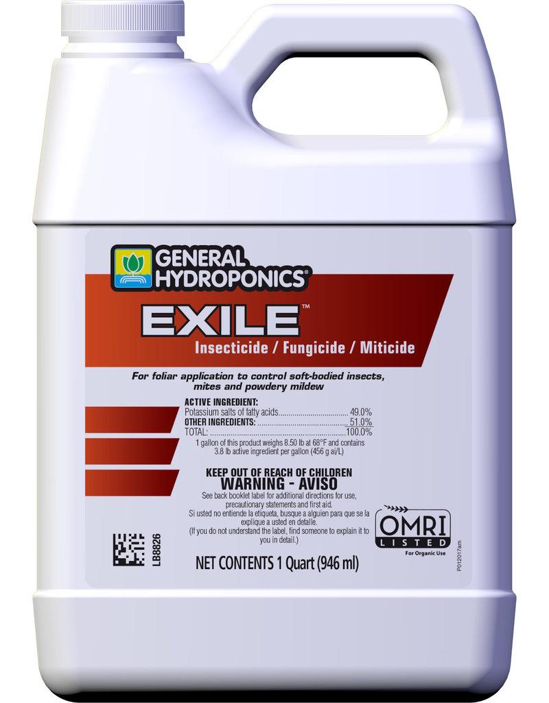General Hydroponics Exile, Quart Control