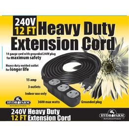 Extension Cord, 240v 12ft