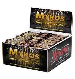 Hydrofarm MYKOS Pure Mycorrhizal Inoculum 100g, case of 60