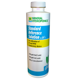 General Hydroponics GH 1500 ppm Calibration Solution 8 oz