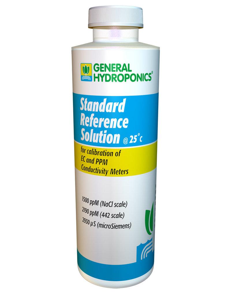 General Hydroponics GH 1500 ppm Calibration Solution 8 oz