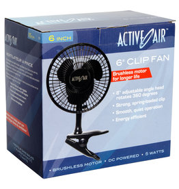 Active Air 6in Clip Fan, 5W