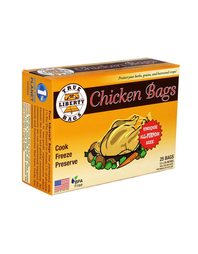 True Liberty Chicken Bags (25/pk)