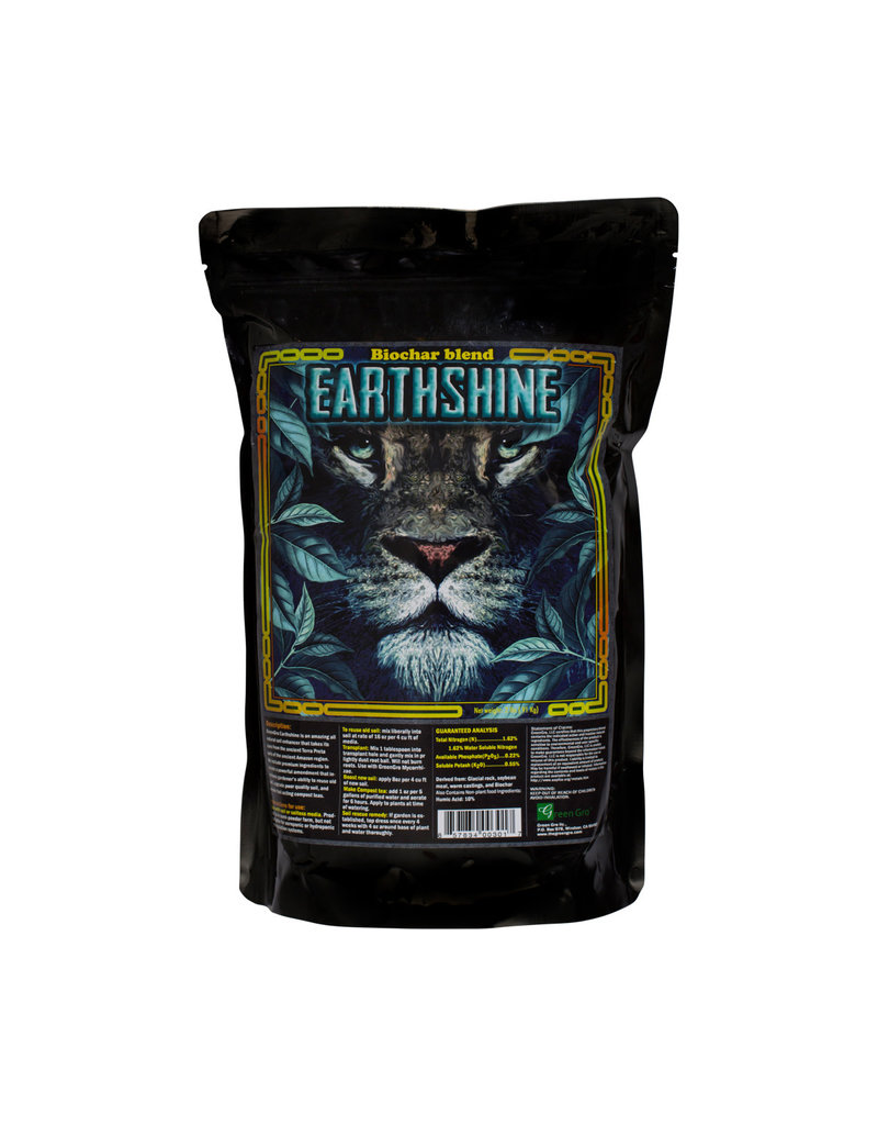 Earthshine Soil Booster with Biochar 2 lbs