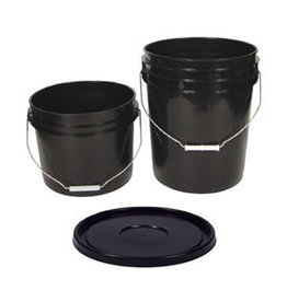 5 Gallon Bucket Lid, Black