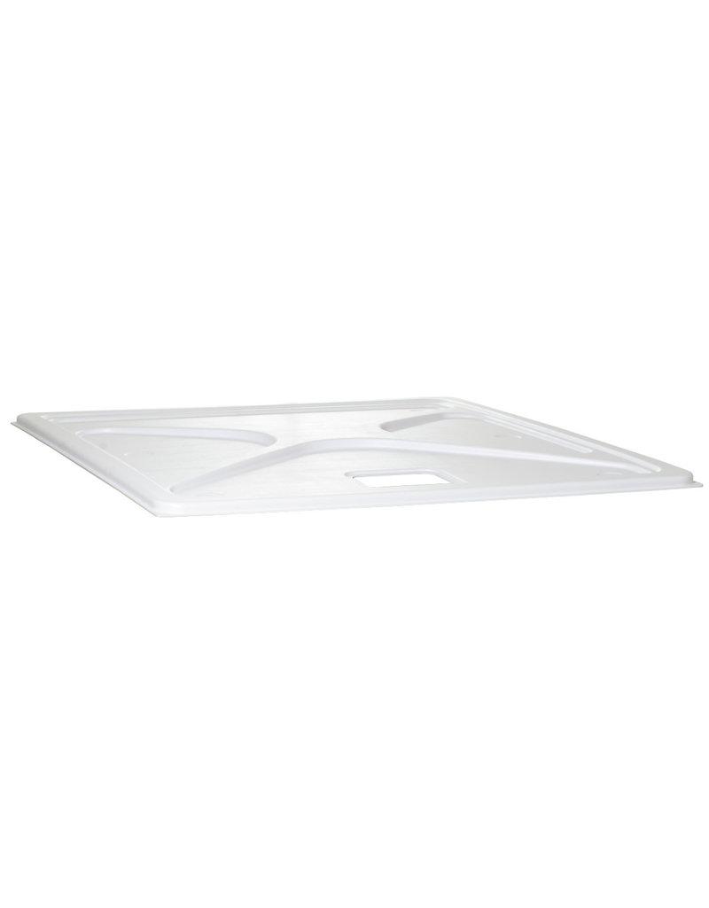 115 Gal Res Cover Premium White