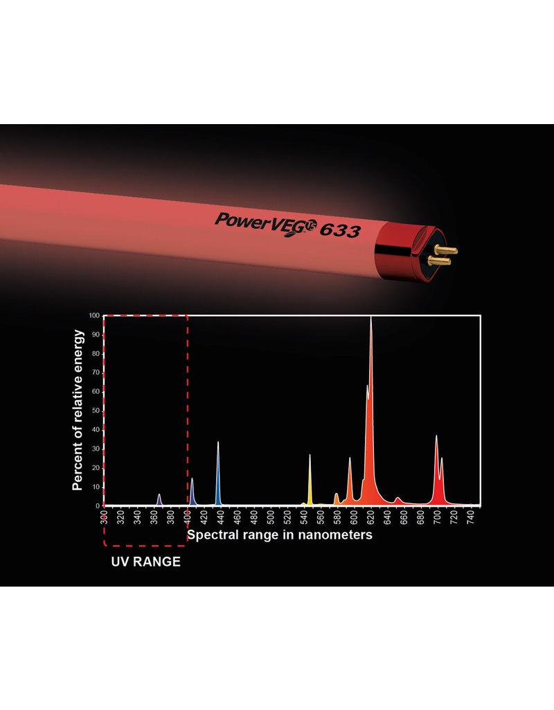 PowerVEG T5 2' 633 Red (24/cs)